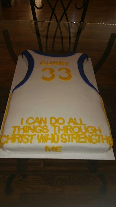 Stephen Curry Cake Stephen Curry Birthday Stephen Curry Cake