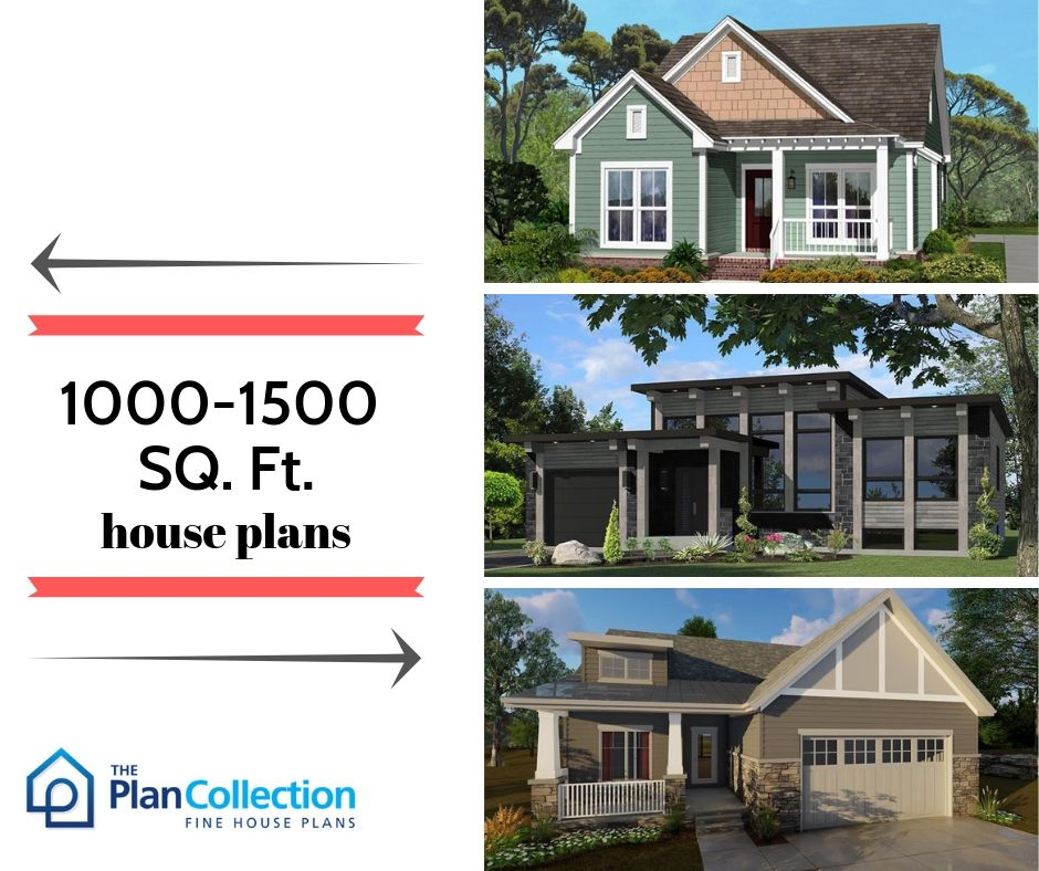 This Size Of 1000 To 1500 Square Foot House Plan Is Perfect In Case Your Job Requires Relocating A Lot T House Plans Small House Plans Traditional House Plans
