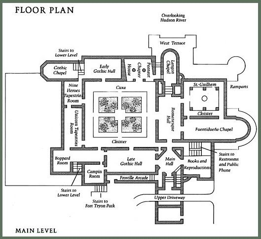 cloisters plan - Google Search