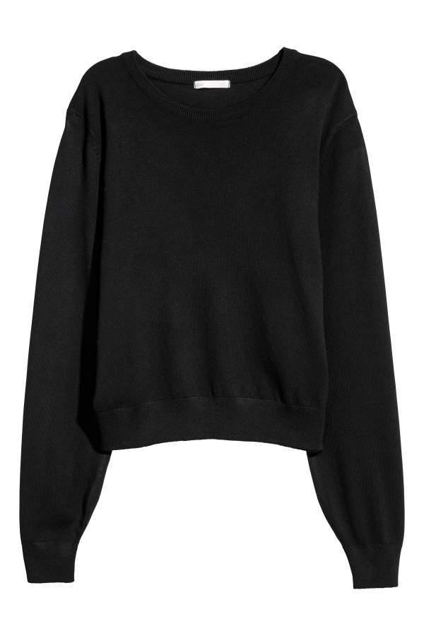 d1412c9b12 H&M H & M - Sweater - Black - Women | fashion ekkor: 2019 | Fashion ...