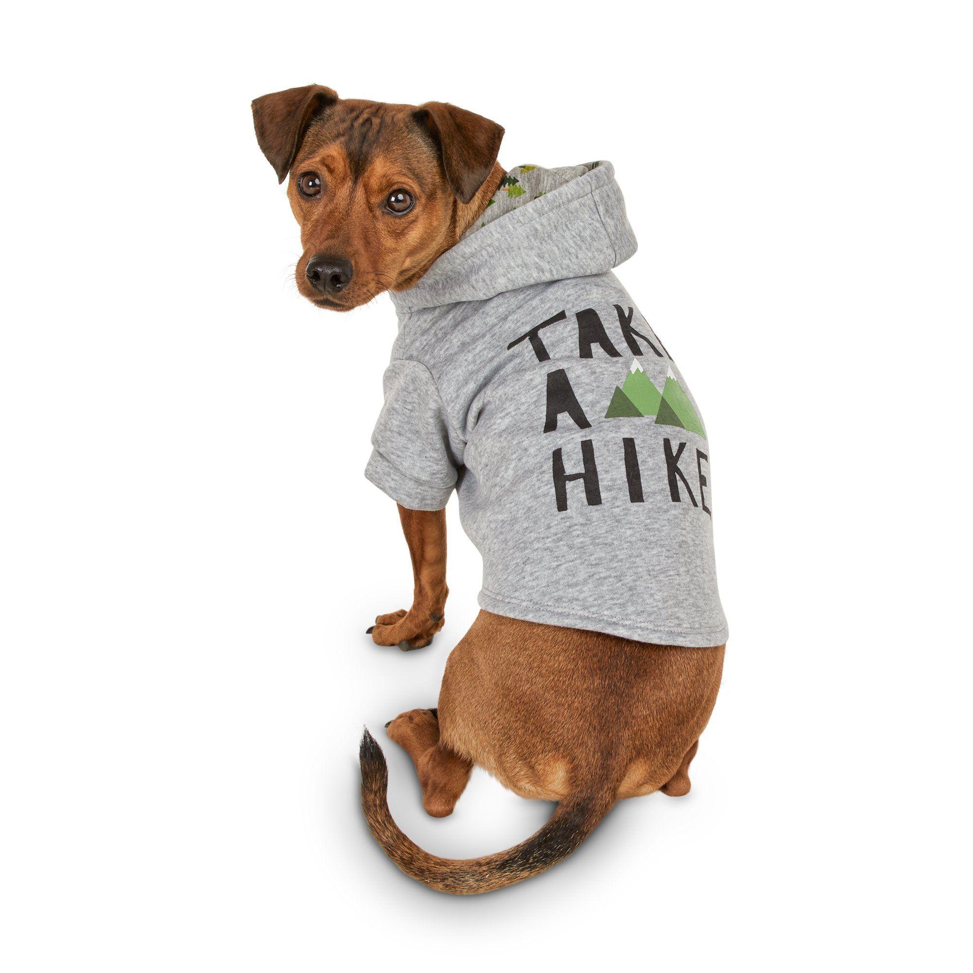 Bond Co Take A Hike Dog Hoodie Medium Dog Hoodie Petco