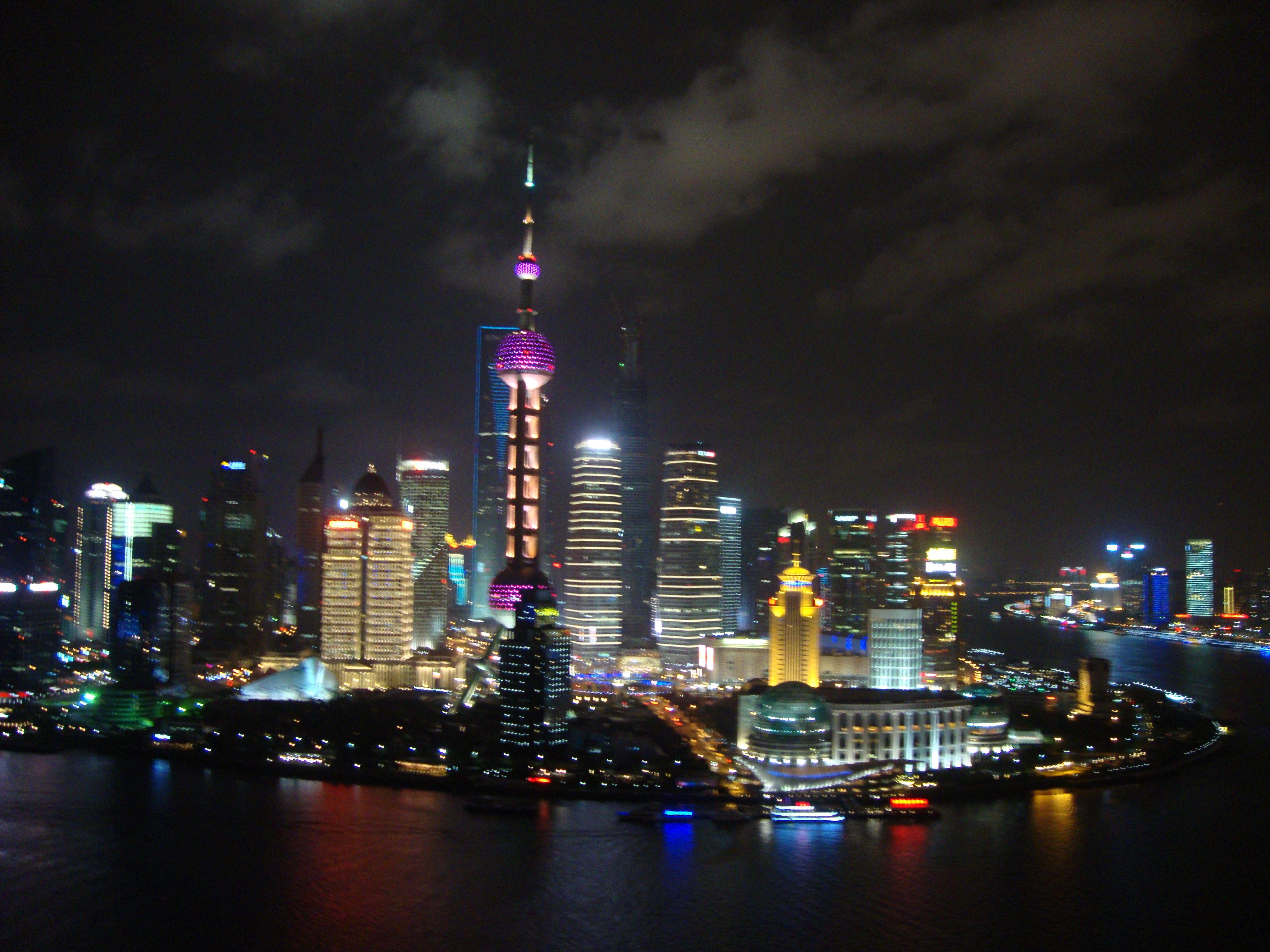 Shanghai Night In High Resolution Shanghai Night New York Skyline Shanghai