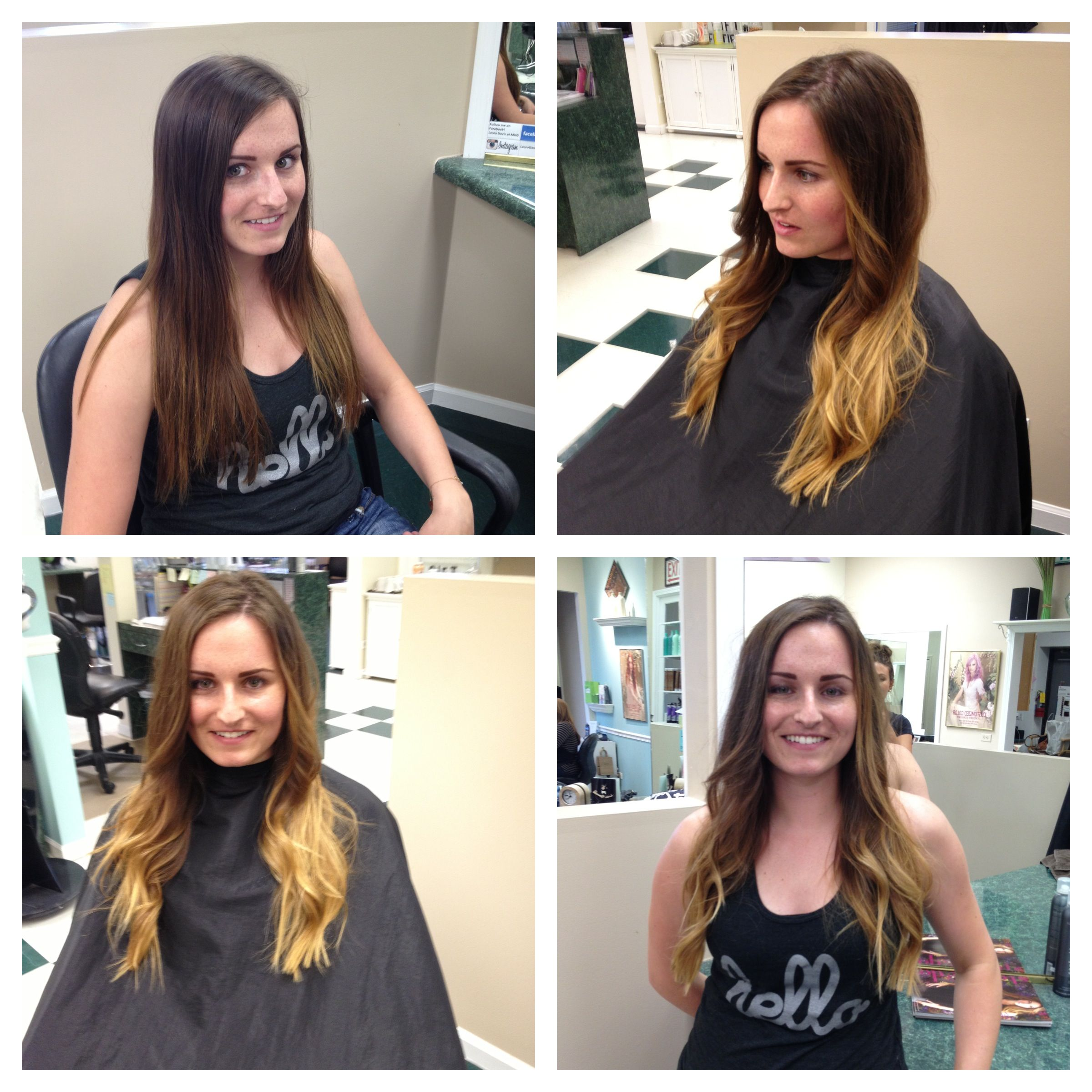 Behind The Chair Ombre Summer Ombré Beach Waves Aveda Color Mary Behind The