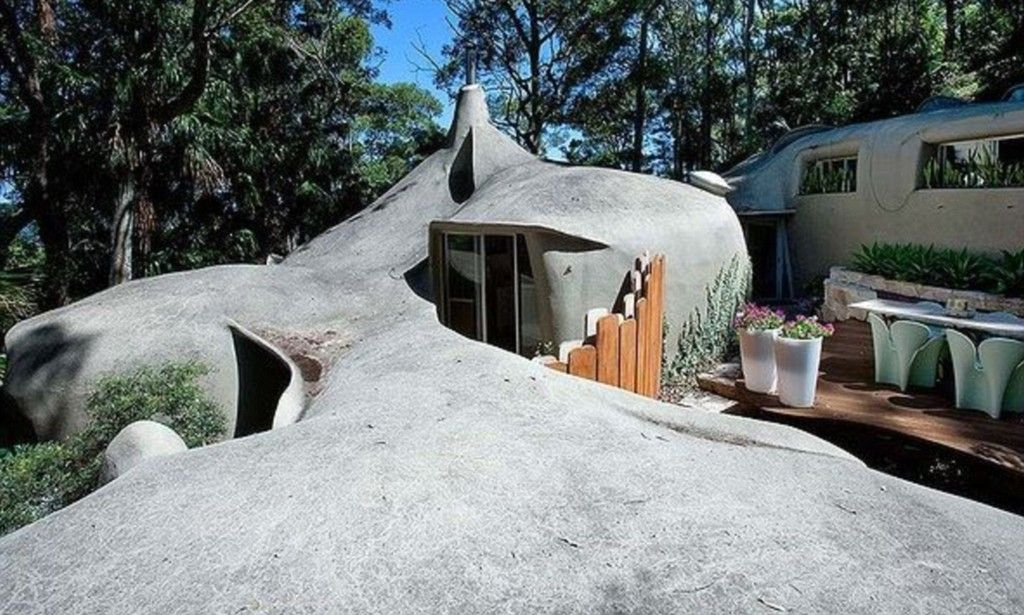 Home shaped like a ROCK will sell for more than $1.5 million | Rock on prairie style design homes, modular design homes, solar design homes, art deco design homes, frank lloyd wright design homes, green design homes, spain design homes,