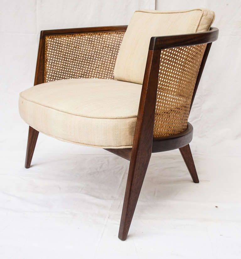 Pair Of Mid Century Harvey Probber Walnut And Cane Hoop Chairs 4 Available From A Unique Collection Of Antique And Modern Meuble Deco Maison Canape Design