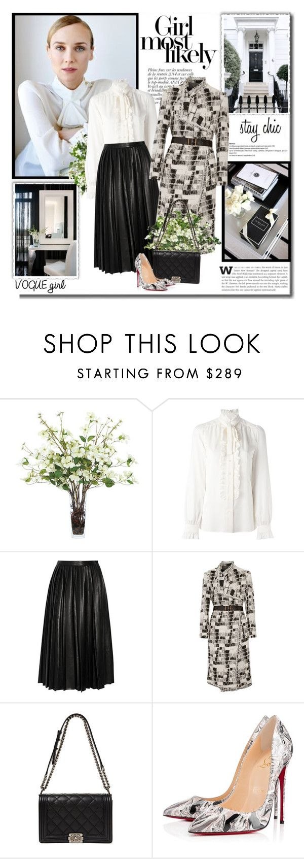 """""""Success is a science; if you have the conditions, you get the result!!"""" by lilly-2711 ❤ liked on Polyvore featuring Anja, Lux-Art Silks, Dolce&Gabbana, BALMUIR, By Malene Birger, Donna Karan and Christian Louboutin"""