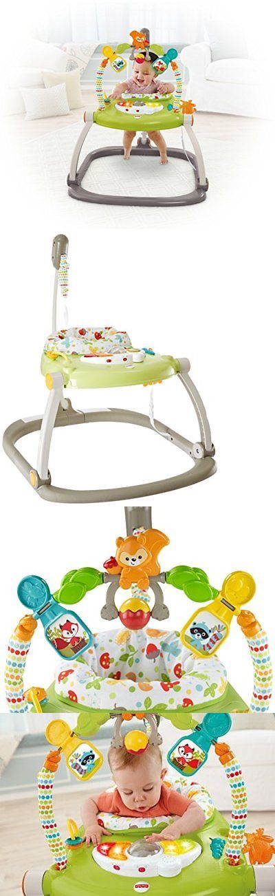 579864a73b72 Fisher Price SpaceSaver Jumperoo Baby Bouncer Safe Jump Seat With ...