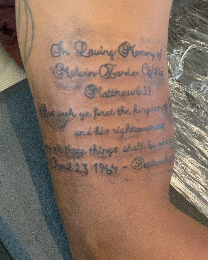 Today's Work 💪🏾 DM to schedule an appointment - - - #tattoos #tatted #tattooartist #tattooworld #dmvtattoos #dmvartist #tattoosociety #tattoosleeve #artist #versatile #tattoostyle