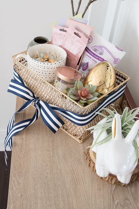 Ideas For A Grown Up Easter Basket Homemade Easter Baskets