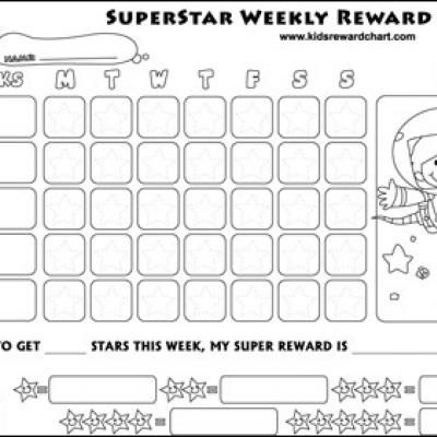 Kids Reward Charts {Free Childrens Printables} Kid Stuff