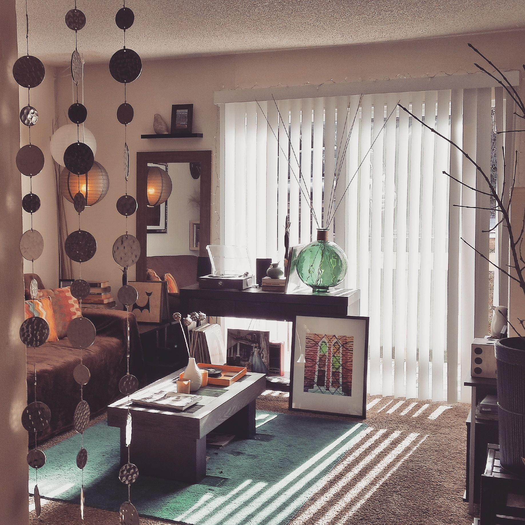 Lovely Vintage Living Room Ideas With Glamour Furniture: I LOVE THIS SHOT Of My Living #room! A Little Boho, Maybe