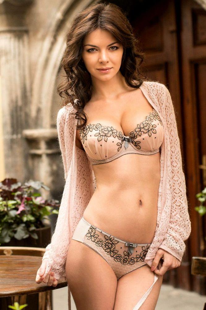 brunette lingerie Pinterest