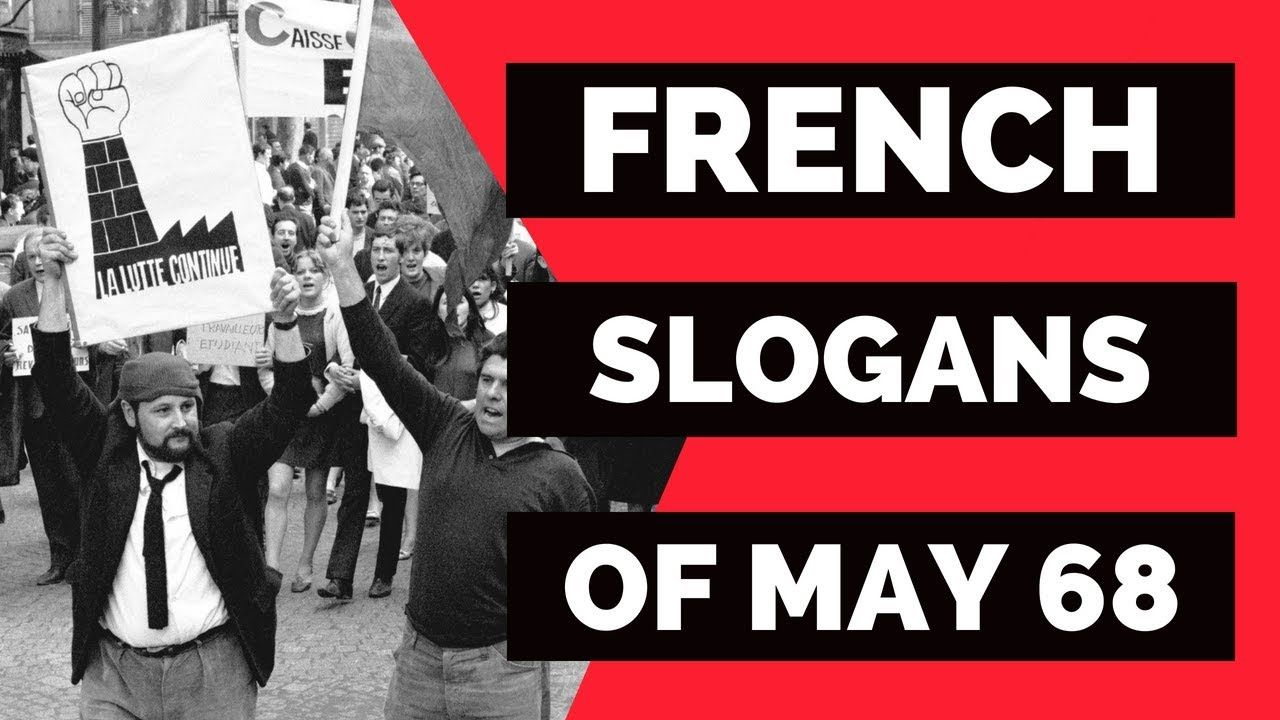 May 68 Slogans 🇫🇷 Learn French with slogans from Mai 68