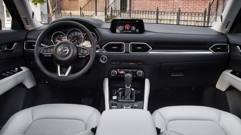2017 Mazda Cx 5 Interior Wants To Serve The Driver First With New Steering Wheel And New Real Hud On The Windscreen Mazda Mazda Cx5 Car Interior