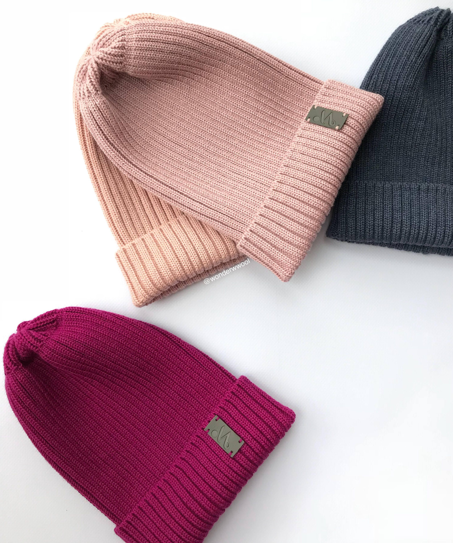 Beanie Caps Knit Hat Grunge Cube Baby Girl