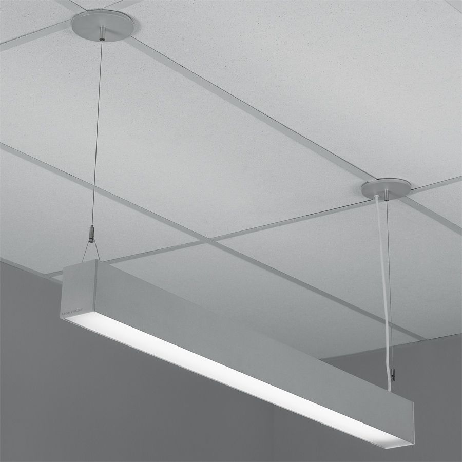 Indirect Office Lighting H Profile Direct Indirect Lensed Pendant By Lightolier