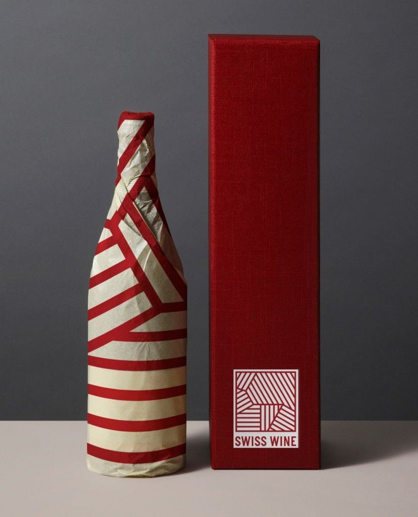 Swiss Wine Wine Bottle Design Wine Design Wine Bottle Packaging