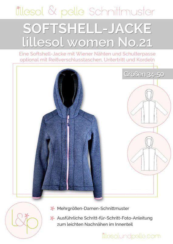 Women Pattern 21 No Soft Shell JacketNähen Lillesol shQxCtrd