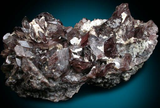 Mineral Specimens: Axinite-(Fe) from New Melones Dam