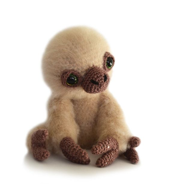 Free Amigurumi Sloth Pattern : Sloth Amigurumi Crochet Pattern PDF Instant Download ...