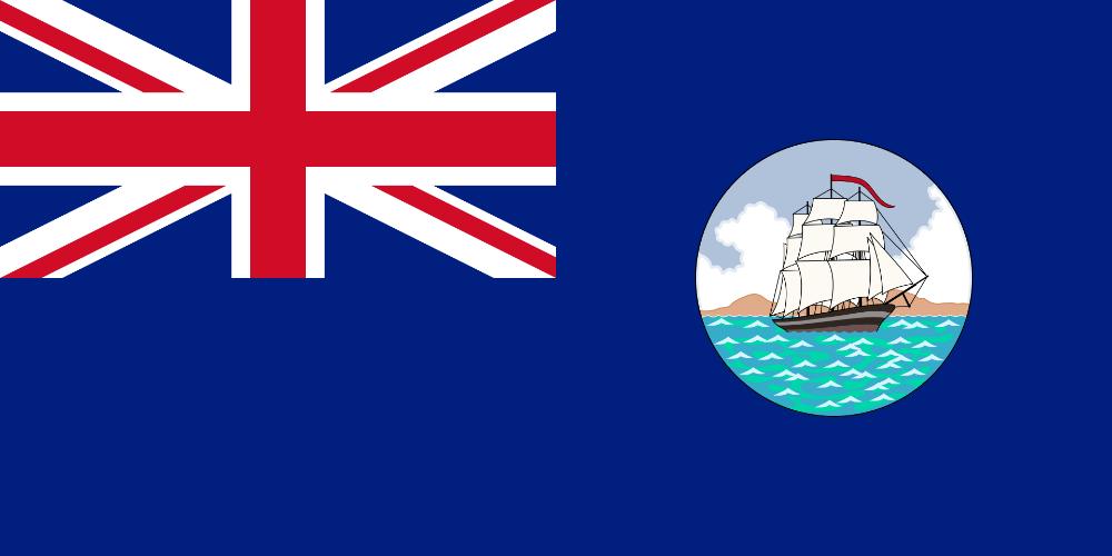 Flag Of British Guiana 1875 1906 Flag Of Guyana Wikipedia Flag British Guiana Guyana