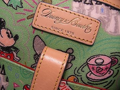 Dooney & Bourke Disney Letter Carrier Bag Retired Grass Green