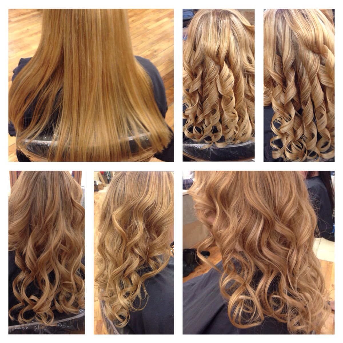 Thermal Curl Before And After Hair Styles Easy Hairdos Hair
