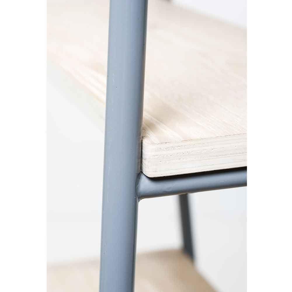 BLOOMINGVILLE Regal Cross Metall & Holz | Schmales regal