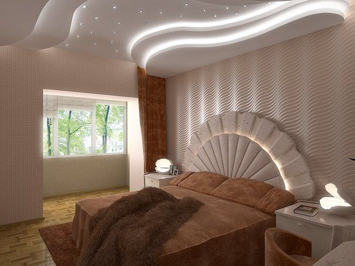 CasasDecoradas | False Ceilings | Pinterest | Ceilings, Bed room and ...