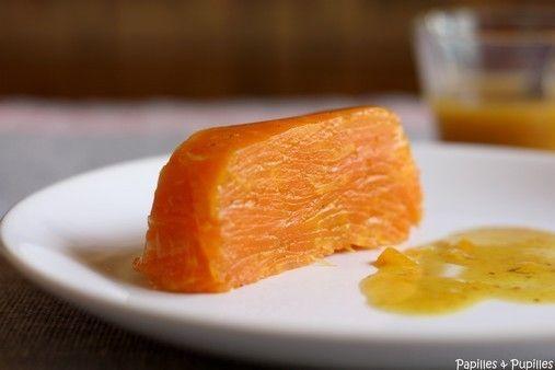 Michel guerard, terrine de carottes à l'orange et au cumin