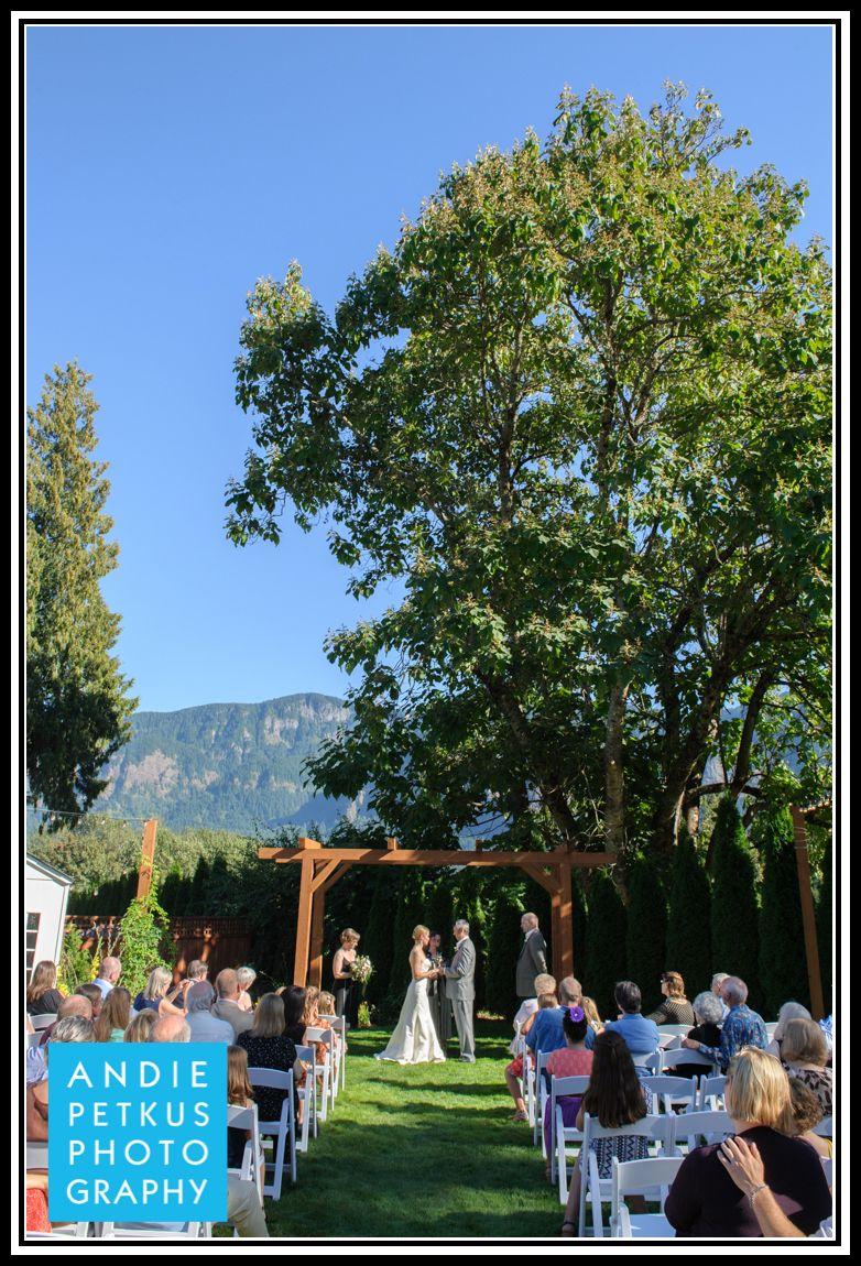 Wedding At Cape Horn Estate
