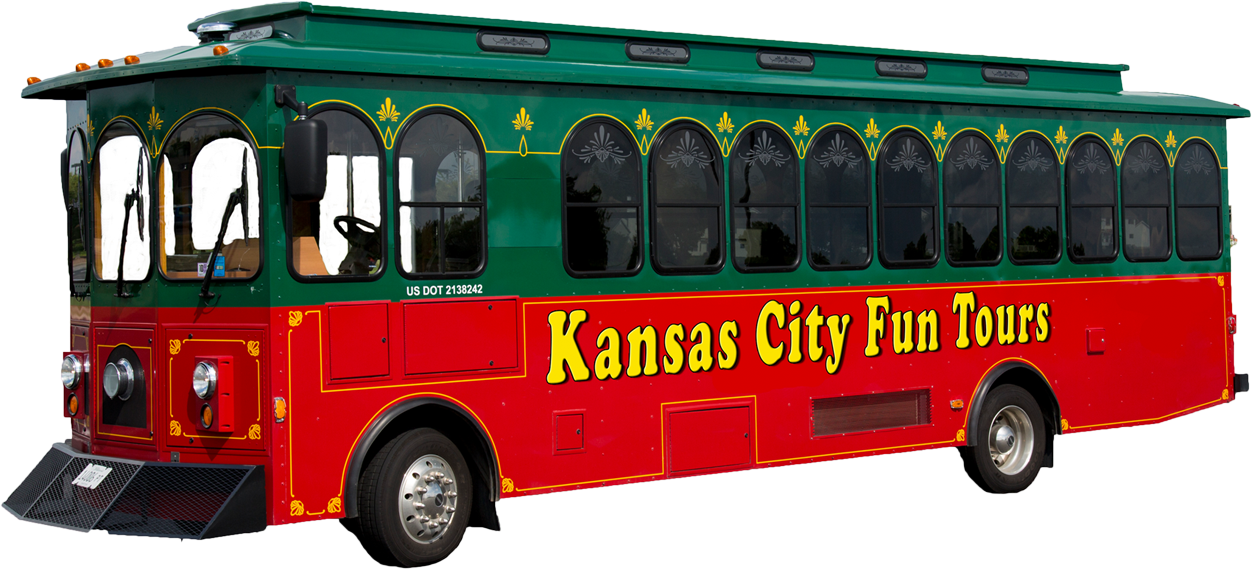 Kansas City Fun Trolleys. Trolley tours pick up at Union Station
