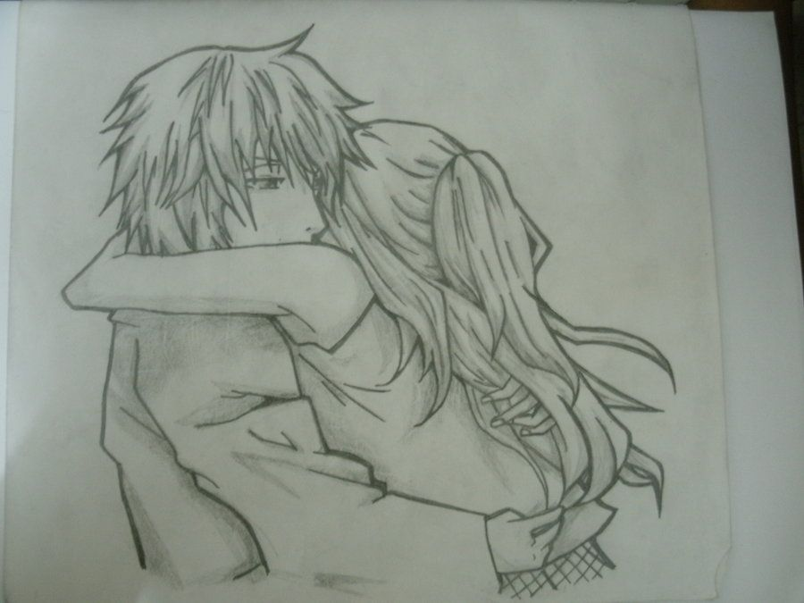 Sketches on Pinterest | Anime Couples Hugging, Anime Couples and Anime