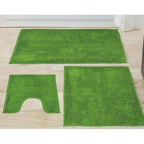 Brayden Studio Abrahamson 3 Piece Bath Mat Set Bath Mat Sets Bath Mat Kids Rugs