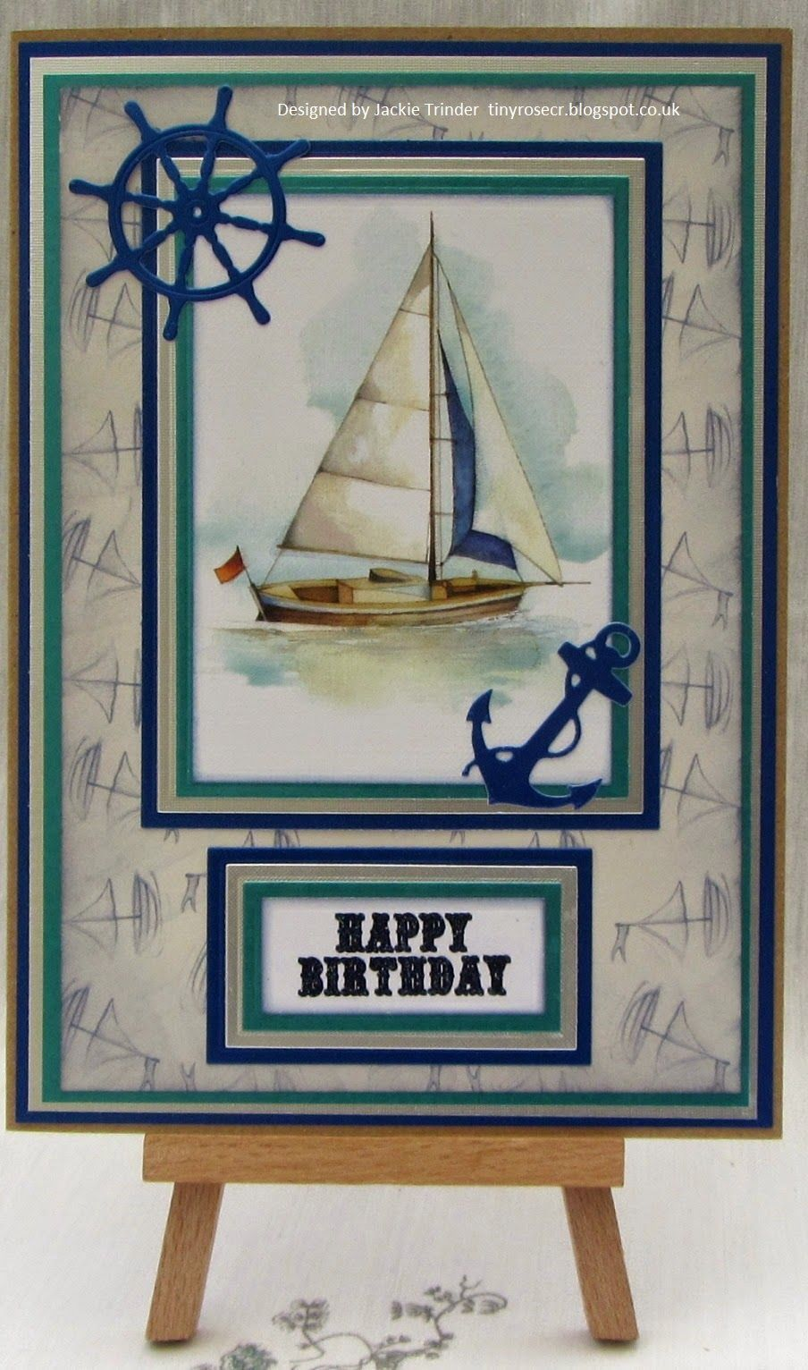 Tinyrose's Craft Room: A Boat for a Birthday.
