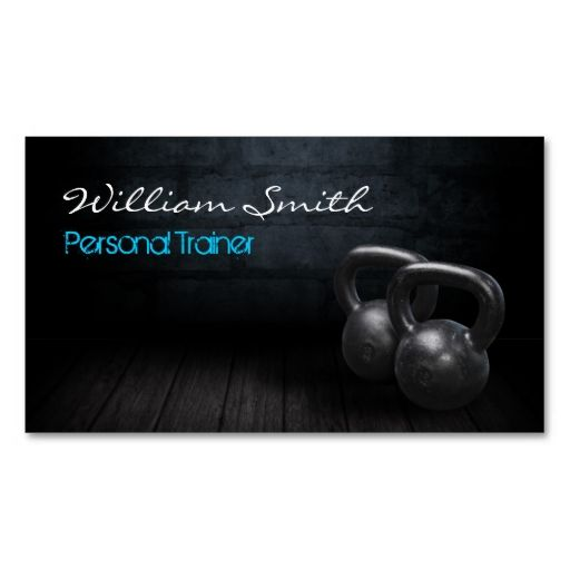 Personnel Trainer Business card. I love this design! It is available for customization or ready to buy as is. All you need is to add your business info to this template then place the order. It will ship within 24 hours. Just click the image to make your own!