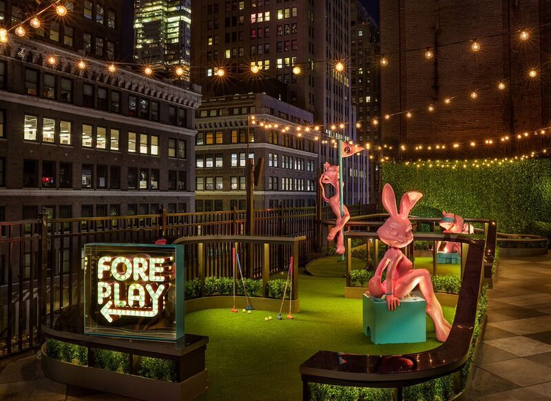 Magic Hour Rooftop Bar Amp Lounge At Moxy Times Square Is
