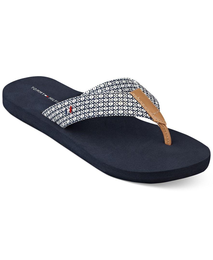 6152b3abffff Tommy Hilfiger Women s Caber Flip Flops