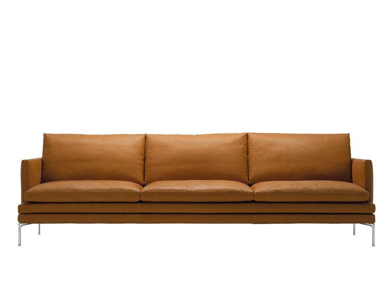 William Canape By Zanotta Design Damian Williamson Sofa Leather Sofa Sofa Design