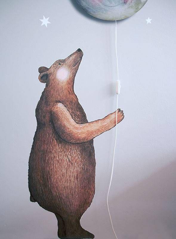 Bear Wall Sticker Charlie S Bedroom Pinterest Toddler Rooms