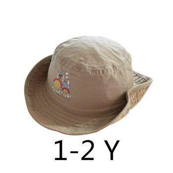 0756df74e32 Children Boys Sun Hats Spring Summer Caps Cotton Bucket Hat Baby Kids Boy  Cool Tractor Cap New Fashion Free Drop Shipping