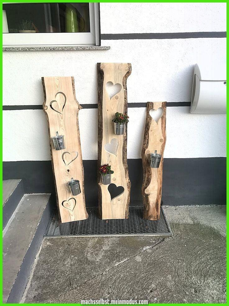 Einzigartige und Kreative Holzdekoration