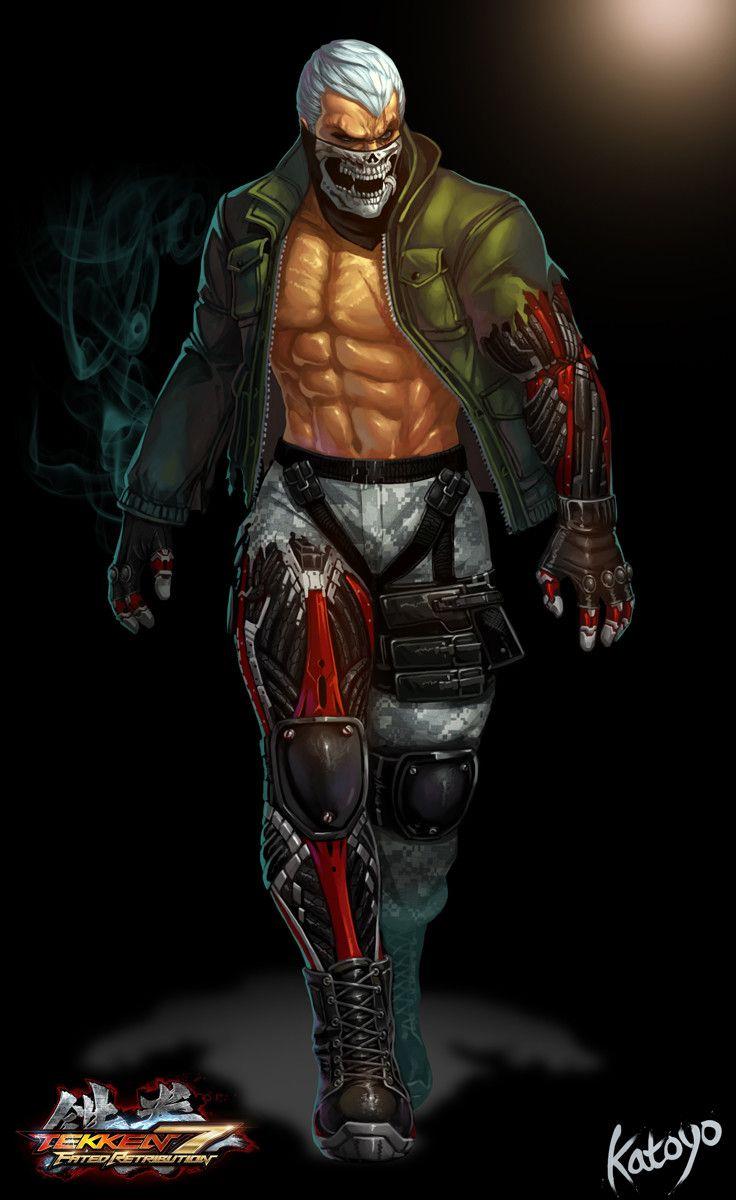 Tekken 7 Fr Fury Sanghyun Yu Tekken 7 Bryan Fury Bryan Tekken