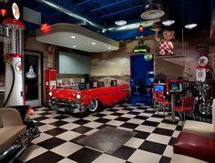 Organisation Decoration Garage Retro Decoration Garage Interieur Vintage Garage Moderne