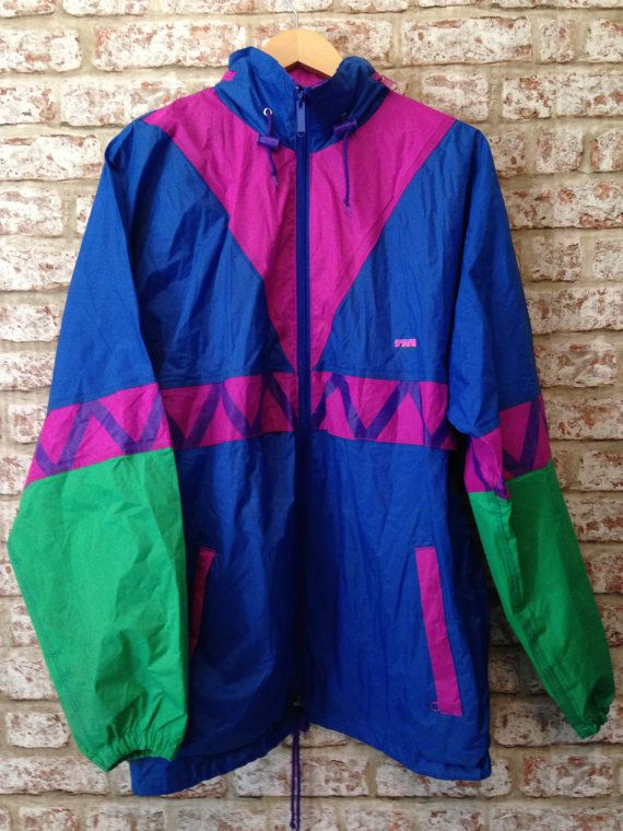 acbb62eb1 Vintage Festival 80s/90s Shell Suit Jacket by UnexampledVintage ...