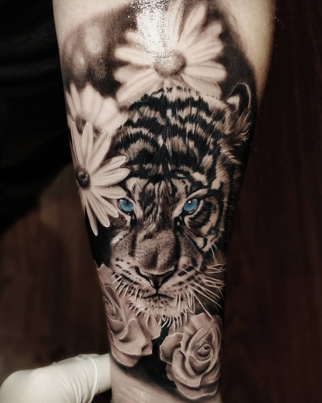The Eyes Tattoos Leopard Tattoos Sleeve Tattoos For
