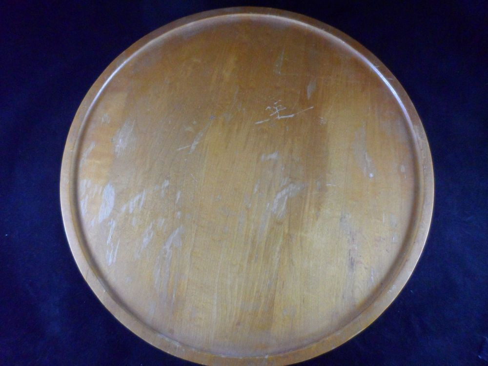 Lazy Susan Milwaukee Unique Vintage CH Specialty Wood Lazy Susan Milwaukee Wisconsin 60