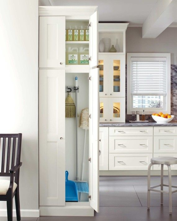 Behind The Door 14 Hidden Ways To Organize Your Kitchen  Utility Glamorous Cleaning Kitchen Cabinet Doors Inspiration