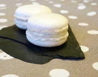 Macarons à la vanille rapides #macaronrecette