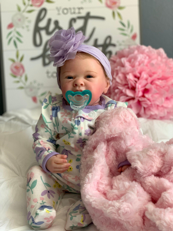 Realistic Baby Doll Lifelike Newborn Girl Accessories